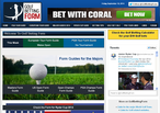 Golf Betting Form web-site home-page