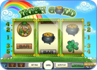 Irish Gold 3-reel online slots game