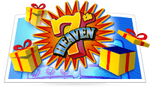 7th Heaven scratch card game icon