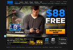 888Poker site homepage