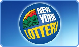 New York Lottery logo blue