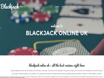 Blackjack Online UK website picture