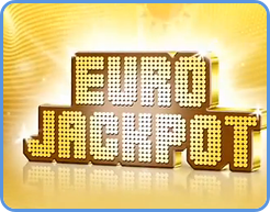 Eurojackpot lotto game logo