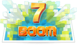7 BOOM scratch card game icon