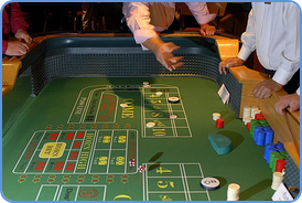 Having joy while playing craps picture