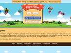 Kite flying game site home-page