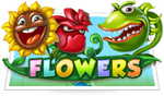 Flowers slots scratch card game icon