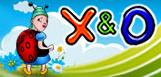 X & O scratch card game icon