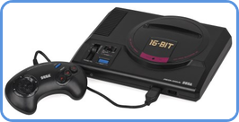Sega Master System gaming console