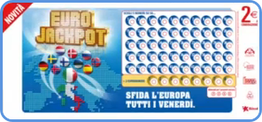 European EuroJackpot lotto blank coupon playsli