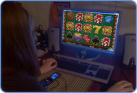 Slots enthusiast playing online