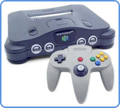 Nintendo 64 gaming console