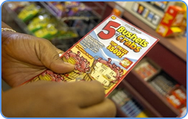 The joy of playing scratch cards