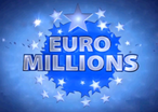 Euromillions lottery logo blue