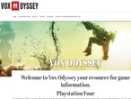 Vox Odyssey gaming website picture